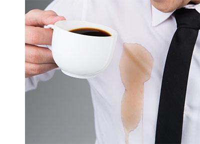 kaffe pletfjerning