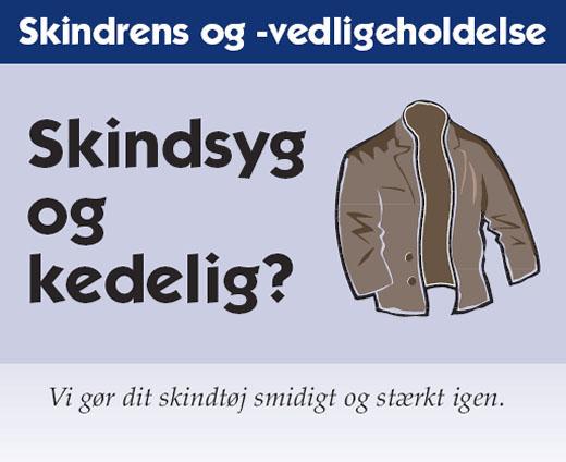 Skindtøj Helsinge- rens af skindtøj