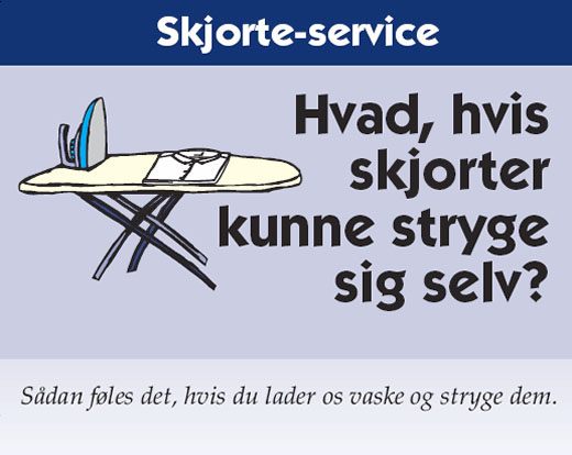 Skjorteservice i Køge